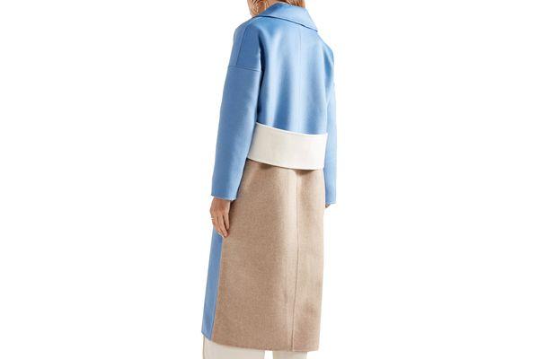 Rejina Pyo Kate Oversized Wool-blend Felt Coat