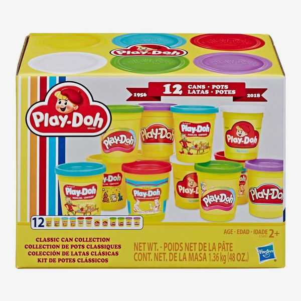 Play-Doh Retro Compound Pac Classic Can Collection