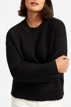 Everlane Link-Stitch Crewneck Sweater
