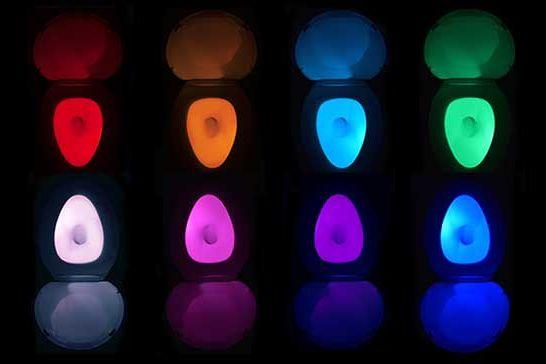Illumibowl Toilet Night Light
