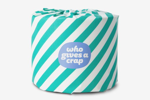 Who Gives A Crap 100% Recycled Toilet Paper, 3-Ply Jumbo Rolls - 24-pack