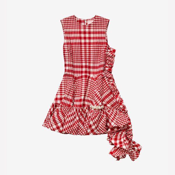 Simone Rocha x H&M Asymmetric Cotton Dress