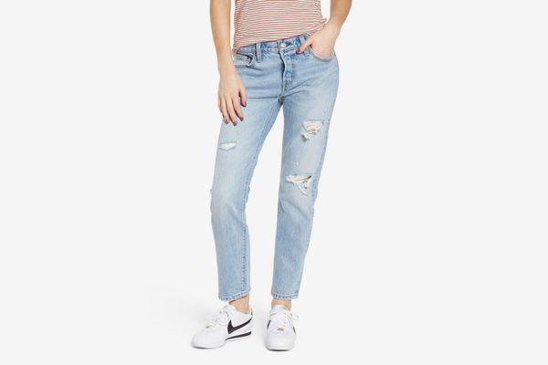 501 Levi's Boyfriend Jeans