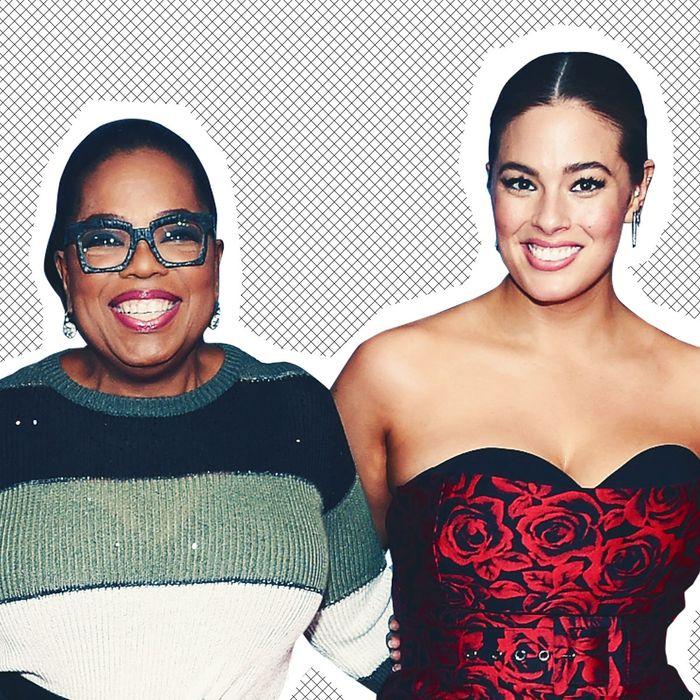 Oprah and Ashley Graham