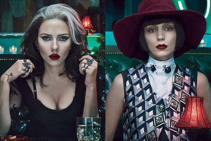 Scarlett Johannson and Rooney Mara.