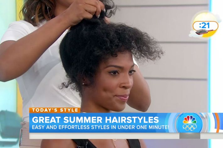 Malyia on the Today Show.