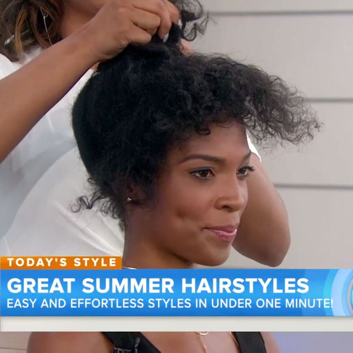 The Real Story Behind That Viral Today Show Natural Hair Segment