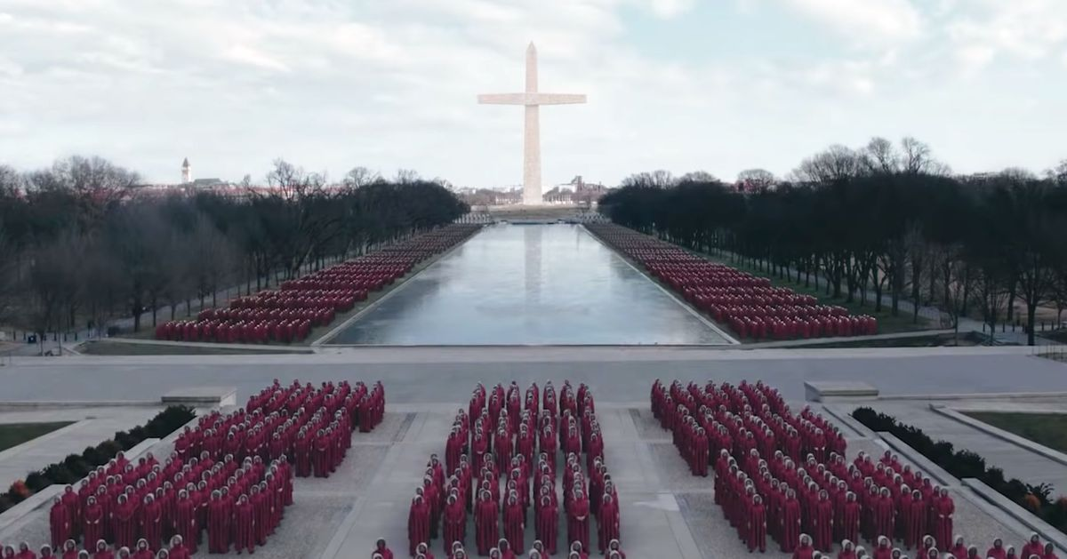 u2018the handmaid u2019s tale u2019 is filming on the national mall