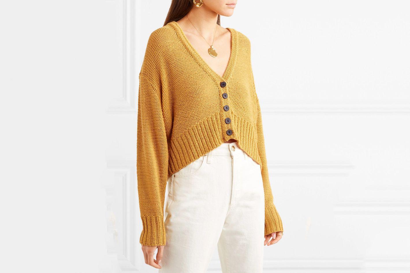 SIMON MILLER Izee wool cardigan
