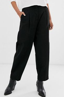 ASOS Selected Femme Cropped Tailored Pants