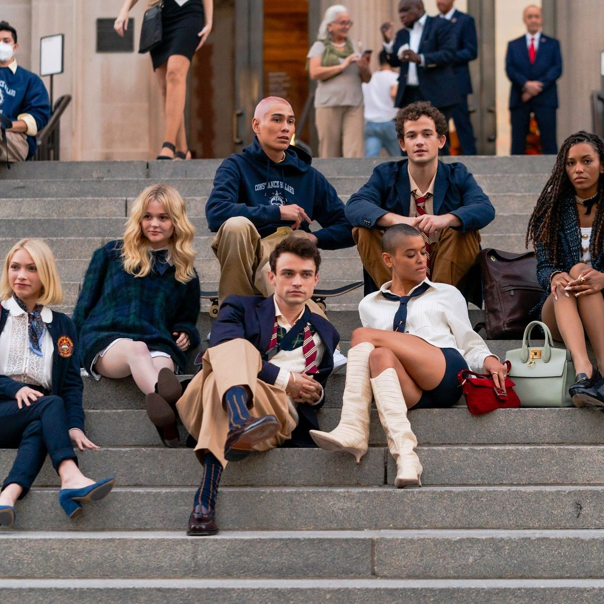 Check Out Photos from the Gossip Girl Reboot Set