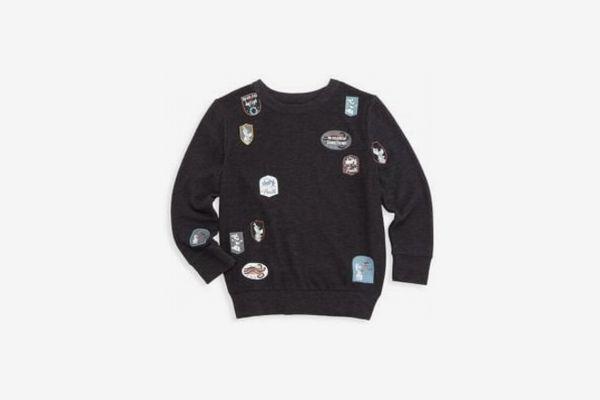 Chaser Disney's Frozen 2 Little Boy's & Boy's Patch Sweater