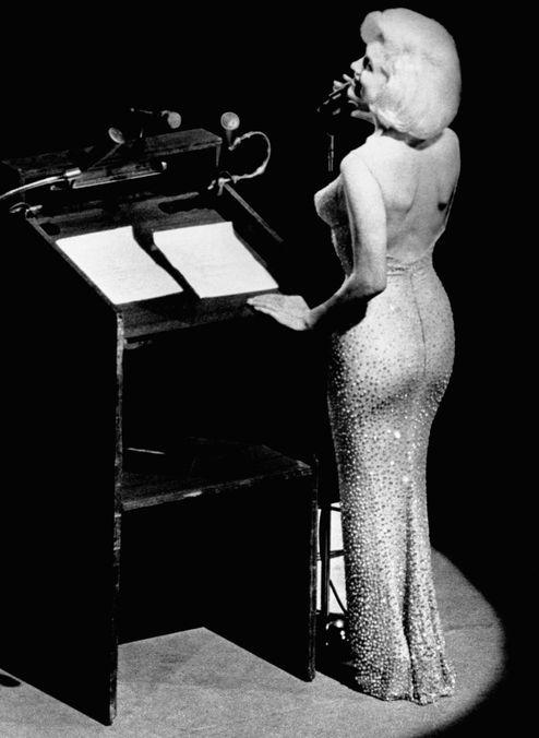 Photo 10 from Marilyn Monroe's 'Happy Birthday' Dress
