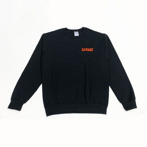 Zabar's Black Embroidered Logo Sweatshirt