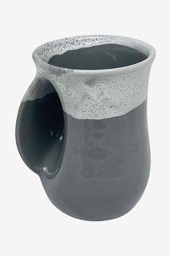 Clay in Motion Handwarmer Mug (Left-Handed)