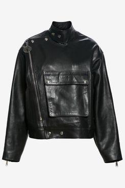 HFD Leather Biker Jacket