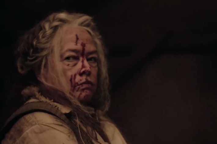 Kathy Bates as The Butcher.