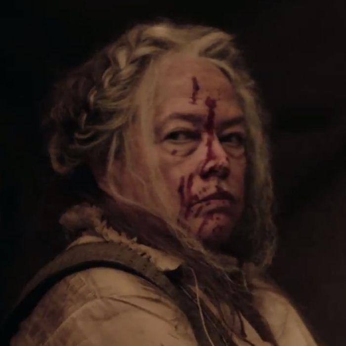 Kathy Bates as The Butcher.