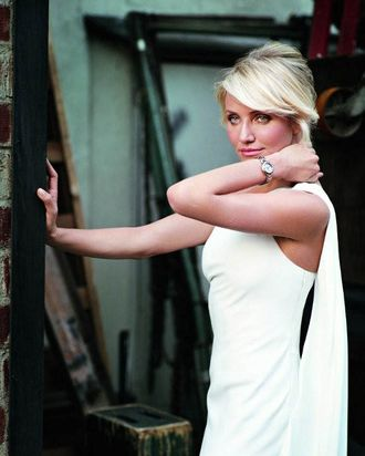 Cameron Diaz for Tag Heuer; courtesy of Tag Heuer.