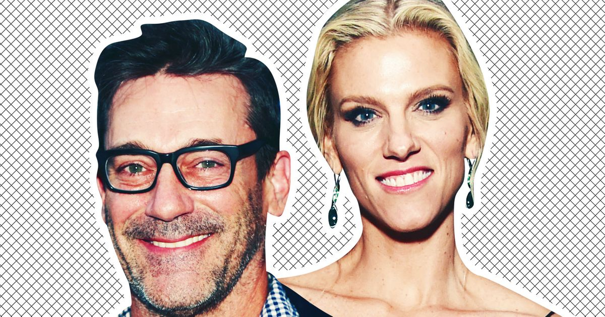 Lindsay Shookus and Jon Hamm Are Having a 'Great Time'