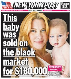 Socialite Helps Bust Black-Market Baby Ring