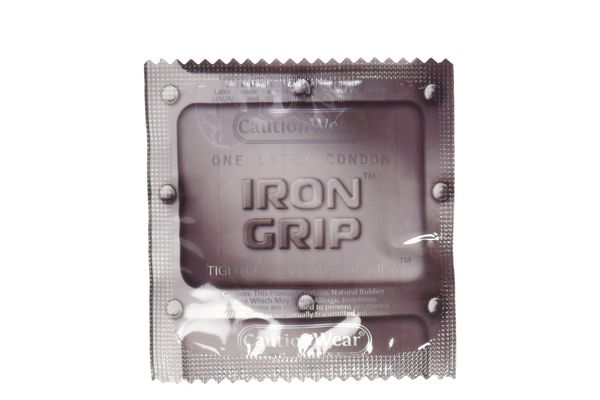 Iron Grip Caution Wear, 80 Count