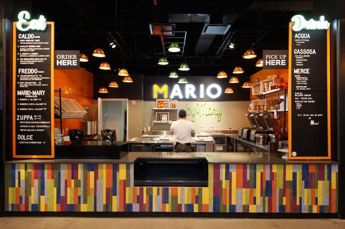 Penn Station Food Court Mario Batali