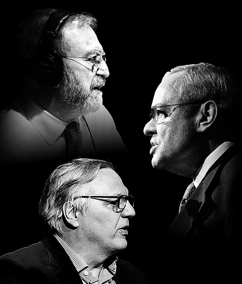 Leonard Lopate, Jonathan Schwartz, and John Hockenberry.