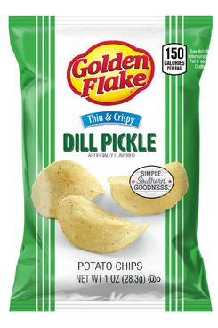 Golden Flake Dill Pickle Chips
