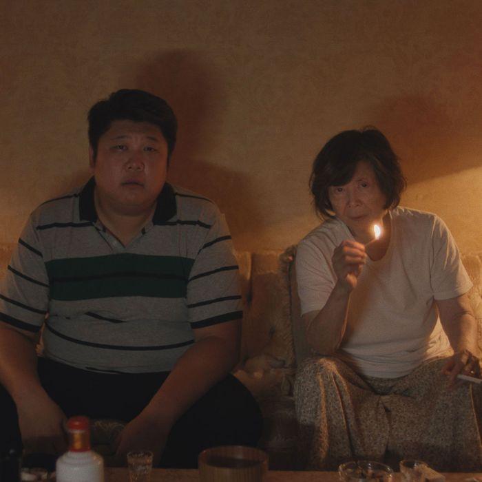 Hsiao-Yuan Ha and Tsai Chin in Lucky Grandma
