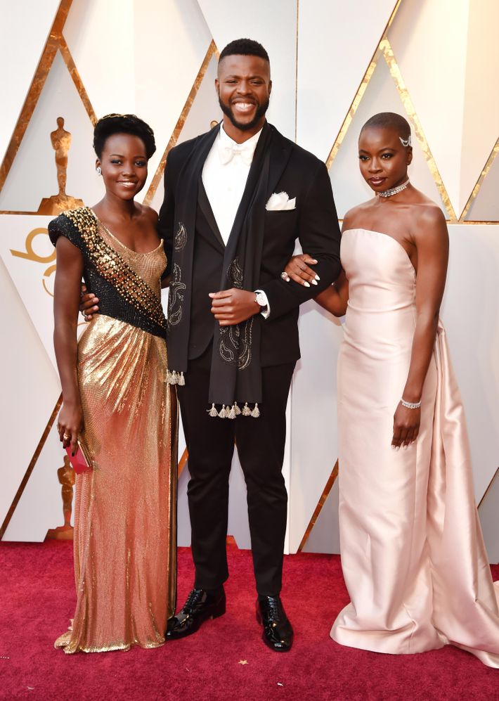 No black actors nominated for oscars 2018 dresses