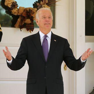 VP Biden Hosts South Korean President Park At Naval Observatory