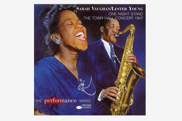 One Night Stand The Town Hall Concert 1947 by Sarah Vaughan & Lester Young