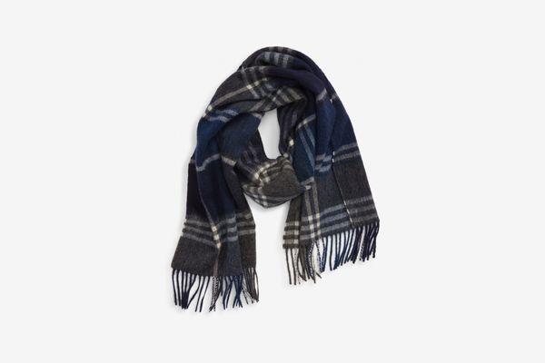 Barbour Kindar Plaid Wool & Cashmere Scarf