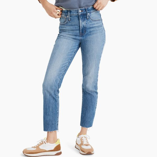 Madewell The Perfect Vintage Raw Hem Jeans