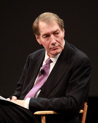 NEW YORK, NY - APRIL 27: Executive editor/anchor Charlie Rose speaks during Tribeca Talks Industry: The Business Of Entertainment - At The 2011 Tribeca Film Festival at SVA Theater on April 27, 2011 in New York City. (Photo by Astrid Stawiarz/Getty Images) *** Local Caption *** Charlie Rose;