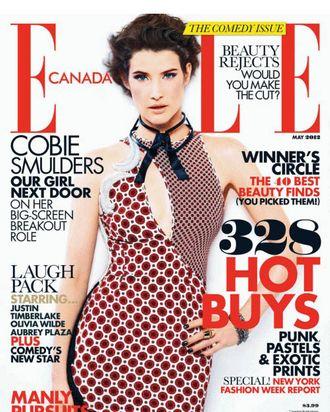 Cobie Smulders for <em>Elle</em> Canada.