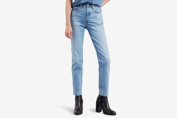 Levi's Wedgie Icon Fit High Waist Ankle Jeans