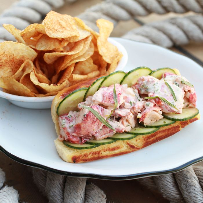The lobster roll is a must.