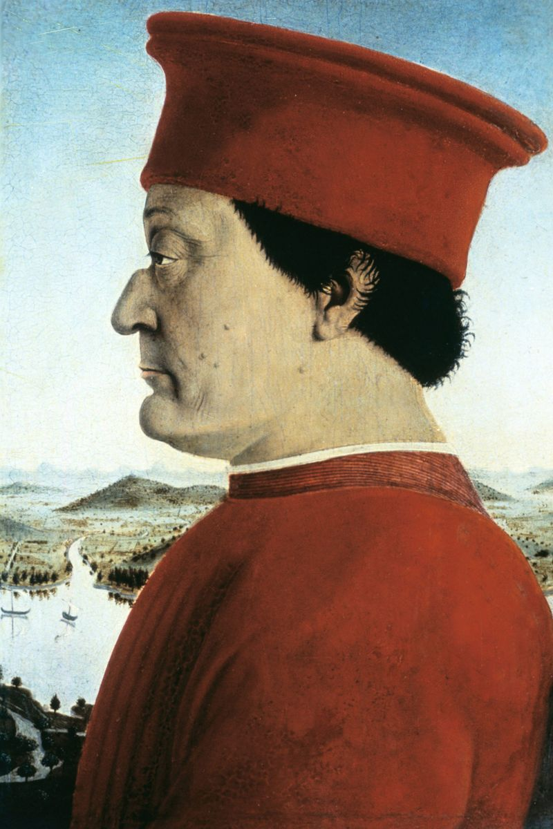 The Duke of Urbino's Red Hat - 50 Most Legendary Hats ...