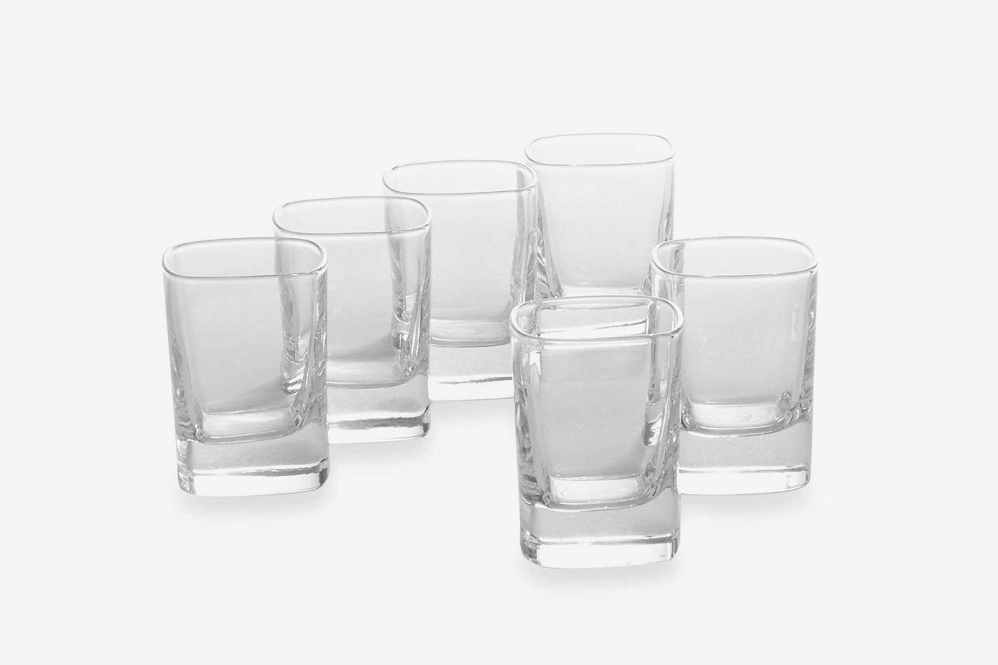 Luigi Bormioli Strauss SON.hyx Shot Glasses (Set of 6)