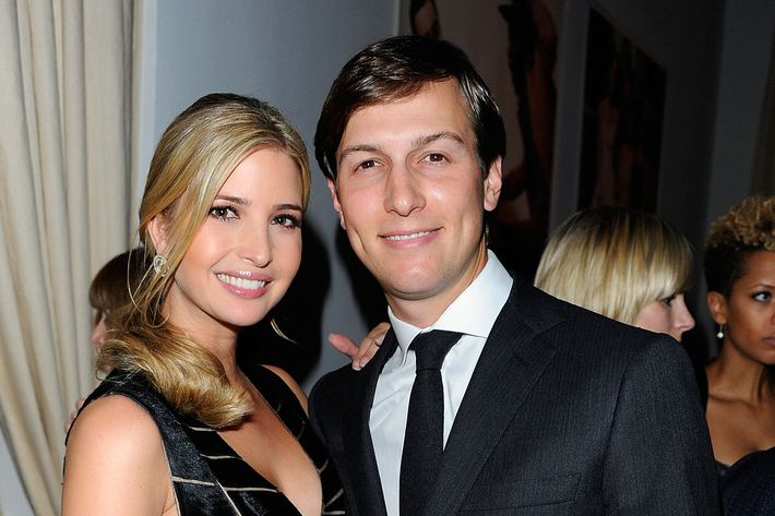 Ivanka Trump and Jared Kushner attend the 8th Annual CFDA/Vogue Fashion Fund Awards