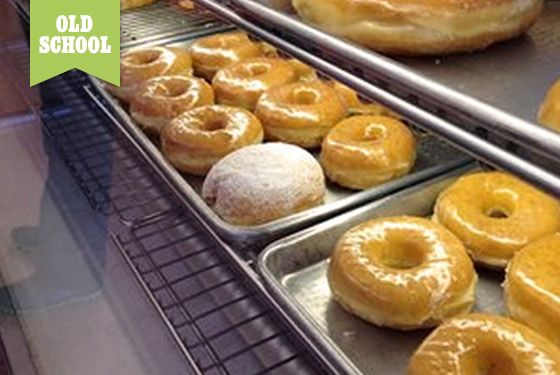 "<a href=""http://www.yelp.com/biz/maple-leaf-donuts-san-jose-2"">Maple Leaf Donuts</a>    At this strip-mall coffee-and-doughnut shop in West San Jose, you won't find anything with bacon on it, but you will often find a line out the door and a doughnut selection that's almost sold out by 10 a.m. The same family has kept this place consistent for four decades, and there's a hyper-loyal fan base.    <b>What to Order:</b> A glazed old-fashioned doughnut."