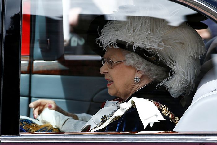 Queen Elizabeth.