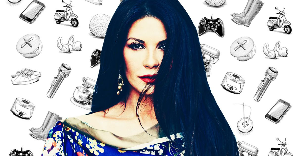 What Catherine Zeta-Jones Can't Live Without