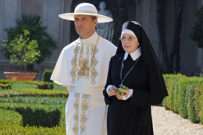 Image result for the young pope jude law