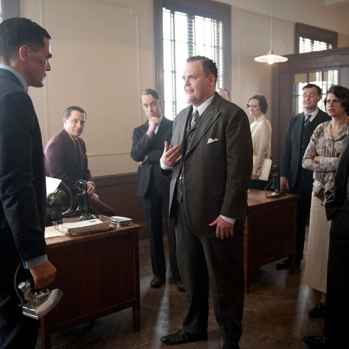 BOARDWALK EMPIRE episode 32 (season 3, episode 8): Ryan Woodle, Michael Shannon.