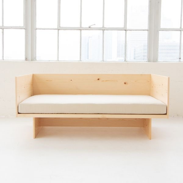SeeByDesign Minimalist Couch with Cushion