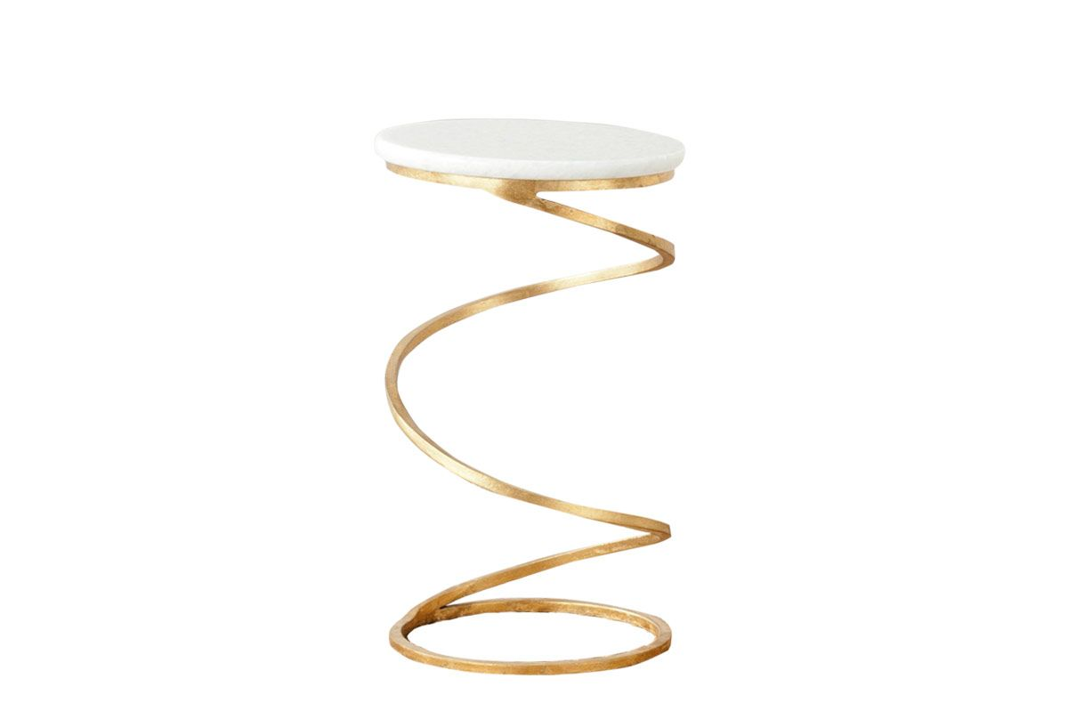 Safavieh Home Collection Nevina Gold Accent Table