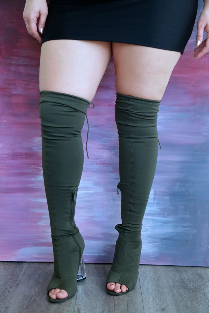 5 Thigh High Boots That Will Actually Fit Over Your Legs